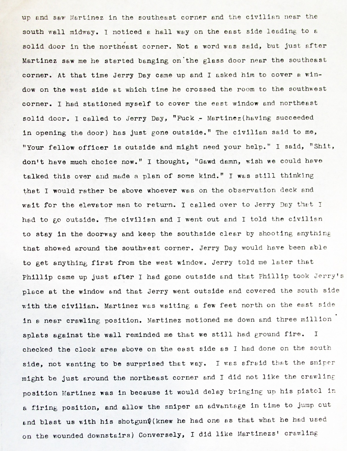 armed civilians and the ut tower tragedy behind the tower scan of mccoy s letter